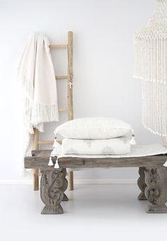 Losari Home & Woman - Blush Throw && Anoushka Cushion && Anoushka Summer Quilt and Rain Dance Large Spiral Cowrie Pendant losari.com.au #losarihome #losarihomeandwoman #losari #soulmoment #whitehome #whiteonwhite #texture #interiordesign #styling #home #boho #bohohome #tribalhome #tribal #homesweethome #soulmoment #onlineshopping #handmade #ourpeople #treasures #macrame #sleep #linen #linenlove #sleeptight #comfort #bedding #snuggle