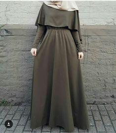 My hijab ♥ Abaya Fashion, Modest Fashion, Fashion Outfits, Hijab Fashion Casual, Dress Fashion, Muslim Women Fashion, Islamic Fashion, Mode Abaya, Mode Hijab