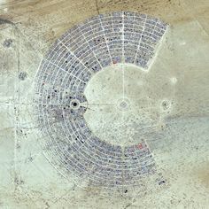 Black Rock City. Laid out in a grid plan with radiating avenues named after the numbers on a clock, the city serves as home to roughly 60,000 people for Burning Man, an annual week-long event. Burning Man is described as an experiment in community, art, self-expression, and radical self-reliance. Additionally residents in Black Rock City practice one of the event's key principles of 'Leave No Trace' – meaning significant efforts are taken to make sure as the city is disassembled in the days…