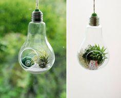 19 ideas para reciclar viejas bombillas 15