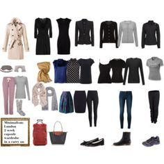 Minimalism: London 2 week capsule wardrobe in a carry on