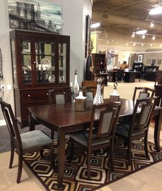 Martini Studio Dining Room Collection On Our Floor At Ashley Furniture In Richland WA