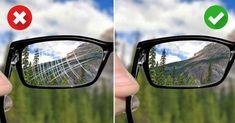 W kilka chwil przywrócisz okularom dawny wygląd