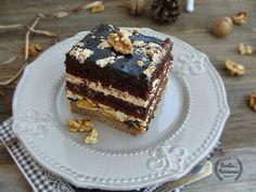 Wanilia i Kardamon: Ciasto bakaliowo-czekoladowe z chałwą