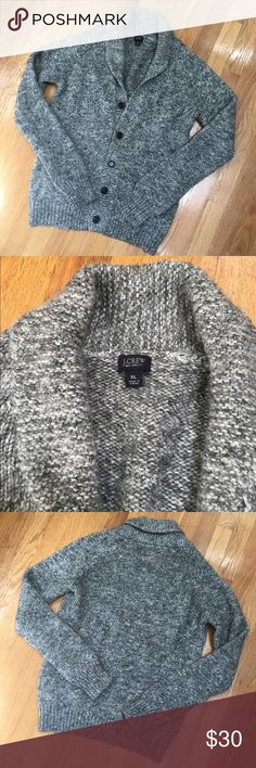Clear out sale! J. Crew oversized cardigan Great condition! No stains, tears or pilling. Very thick and comfy! It is an XL but fits more like a M, which is why I listed it at a M. Make an offer! J. Crew Sweaters Cardigans