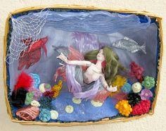 Mermaid Dolls, Doll Clothes, Ideas, Painting, Art, Tela, Patterns, Art Background, Painting Art