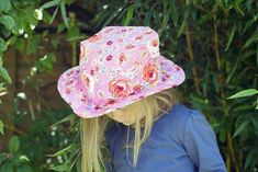 Make hats and then have a tea party!