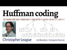 Huffman coding - YouTube Computer Science, Thunder, Software, Coding, Youtube, Free, Youtubers, Computer Technology, Programming