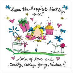 Have the happiest birthday ever!! - Juicy Lucy Designs