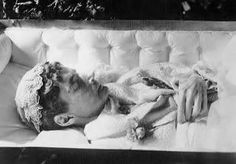 Dowager Empress Maria Feodorovna of Russia at her death. 1928
