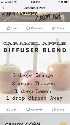 Caramel apple diffuser blend