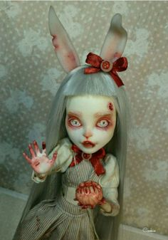 #doll #bloody