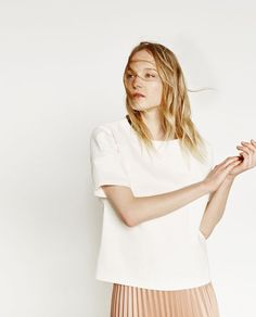 TECHNICAL FABRIC SHIRT-View all-WOMAN-NEW IN | ZARA United States