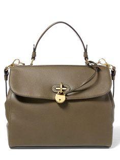 Ralph Lauren Medium Calfskin Tiffin Bag - Ralph Lauren Handbags - Ralph Lauren UK