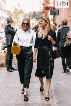 NYFW SS18 Street Style #SS18 #streetstyle