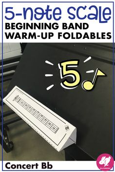These 5 note scale, beginning band worksheets are fun, foldable reference pages for teaching in the first year band classroom. Nice band activities for students to practice scales, write the notes, and draw on the staff! Teaching Orchestra, Teaching Music, Music Classroom, Music Teachers, Classroom Ideas, Music Education, Health Education, Physical Education, Elementary Music