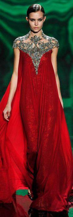 Monique Lhuillier Fall 2013... Elegant!!!