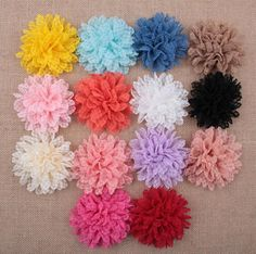 Discount Lace Wavy Diy Flowers For Hair Accessories Baby Multilayers Fabric Flowers For Kids Headbands Infants Diy Hair Styling Accessories Aw47 From China | Dhgate.Com
