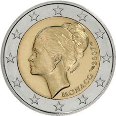 Erikoiseurot Monaco 2 €