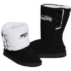 Seattle seahawks bathing suit | Details about Seattle Seahawks Ladies Knit High End Button Boot ...