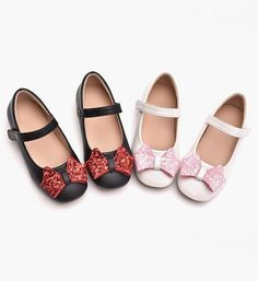Cute Bow Knot Applique Infant Toddler Little & Big Girl Strap Flat Square Wedding Birthday Party Shoes. Please choose your little girl size by Insole length. Cute Baby Shoes, Toddler Sandals, Expensive Shoes, Red High Heels, Shoe Art, Girls Bows, Mary Jane Shoes, Party Shoes, Baby Shop