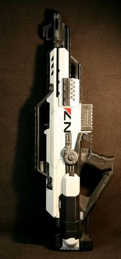 Ultimate Mass Effect Style Nerf Stampede by BCJFLA76 on Etsy