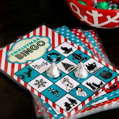 Need a Christmas Activity for Kids? Print these bingo cards & play Christmas Book Bingo! It also makes a great DIY gift.