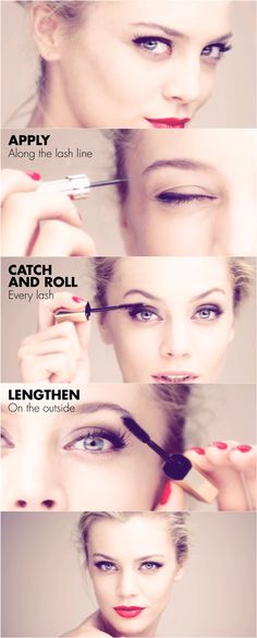 Tip: Applying mascara