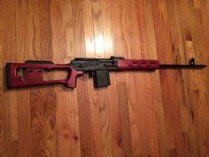 Rifle, Russian VEPR .308 rifle, 23