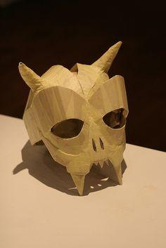 Skull Mask by wrnking, via Flickr
