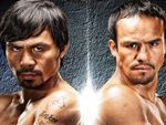"""Manny """"Pac-Man"""" Pacquiao vs. Juan Marquez    Saturday, December 8 6:00pm  Infinity  Viewed throughout the casino    Southern California boxing fans can see the Manny """"Pac-Man"""" Pacquiao versus Juan Manuel Marquez 12-round title fight for the World Boxing Organization (WBO) light welterweight championship LIVE from the MGM Grand Garden Arena in Las Vegas on Pala's big screens."""