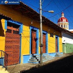 http://OkGranada.com  @serialtourist: Wired and colourful #Granada #Nicaragua #ILoveGranada #AmoGranada #Travel #CentralAmerica #GranadaNicaragua #architecture #colonial #spanish #doors