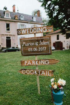 Le mariage de Marion et Julien - Auvergne-Rhône-Alpes | Photographe : Alison Bounce | Donne-moi ta main - Blog mariage