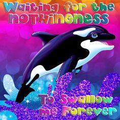Waiting for the nothingness Nihilisa Frank