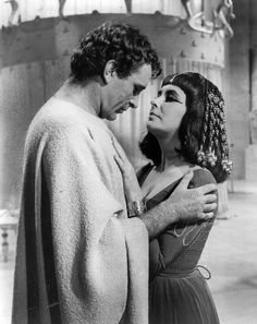 Elizabeth Taylor and Richard Burton met and fell in love during the making of 'Cleopatra' in 1963.