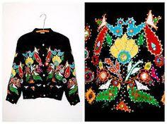 Resultado de imagen de mexican embroidery birds