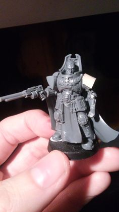 Inquisitor with Pistol