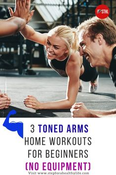 With all that's going on,it can be tough to make time to hit the gym but we have 3 great slim arms exercises at home no weights for specially create for women.Thankfully, you don't need to go to the gym to achieve fabulously toned arms.Here are some of our favourite arm toning exercises for women that will help you tone your arm muscles and lose arm fat without weights on your time.Say goodbye to flabby arms! At home workouts for women,workouts for beginners,slim arms.