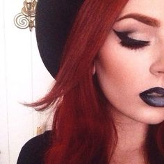 My favorite witchy makeup.