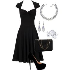 Adore little black dresses for almost everything