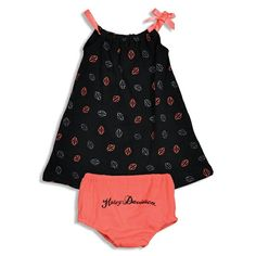 Cute harley davidson girls outfit