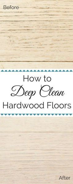 "Homemade Hardwood Floor Cleaner For Sparkling Floors. Take your hardwood floors from dull to ""oh la la!"" with this homemade hardwood floor cleaner. This eco-friendly cleaner is made with … Old Wood Floors, Cleaning Wood Floors, Clean Hardwood Floors, Cleaning Painted Walls, Wood Wood, Clean Wood, Clean Clean, Diy Wood, Deep Cleaning Tips"