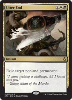Utter-End-x4-Magic-the-Gathering-4x-Khans-of-Tarkir-mtg-card-lot-NM-rare