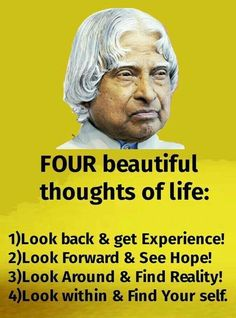 Apj Quotes, Life Quotes Pictures, Good Thoughts Quotes, Real Life Quotes, Reality Quotes, Wisdom Quotes, Hindi Quotes, Qoutes, Inspirational Quotes About Success