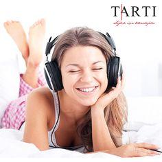 Sevdiğiniz müzikleri dinleyerek iş yapar ya da kendinize biraz vakit ayırırsanız, vücudunuz rahatlar ve mutlu olursunuz. Daha sağlıklı bir yaşam için, kendinize zaman ayırın :) #TartıMedikal #diyet #diyetisyen #müzik #music