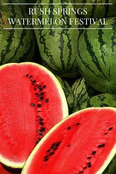 The Rush Springs Watermelon Festival is a summer staple in Oklahoma. Come get your fill of over 50,000 pounds of watermelon, meet the Watermelon Queen and have fun riding carnival rides.