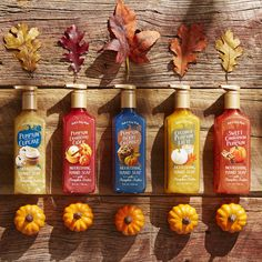 Even your hands will LOVE pumpkin! Our NEW Nourishing Hand Soap is infused with pumpkin butter -- fall's best ingredient -- to moisturize hands while gently cleansing.