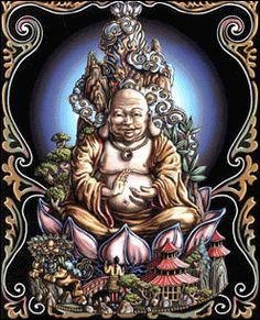Buddha Opticz Black Light Tapestry www.trippystore.com/buddha_opticz_black_light_tapestry.html