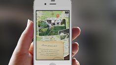 App-Design, Map of farmes in my neighborhood detail-page