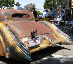 cool fins, rat rods rule